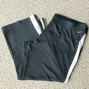 Nike Activewear Cropped Track Pants Racer Athletic